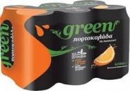 Green   Πορτοκαλάδα 330 ml 5+1 Δώρο