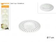 Φίλτρο Νεροχύτη Πλαστικό 4 τεμάχια