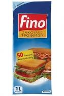 Fino Σακούλες Τροφίμων 17x24 50 Τεμάχια