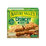 Nature Valley  Μπάρες Δημητριακών  Μουσλι &  Μέλι  6Χ42 gr