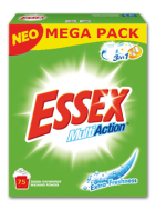 Essex Σκόνη Πλυντηρίου Extra Freshness 75 Μεζούρες