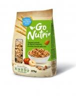 Go Nutri Τραγανό Μούσλι από Μπουκιές Δημητριακών με Ξηρούς Καρπούς 375 gr