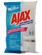 Ajax Πανάκια Καθαρισμού Μπάνιου & Λεκάνης 60 Τεμάχια