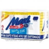 Maxi Χαρτί Υγείας 10 +2  Ρολά  2 Φυλλο