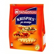 Παπαδοπούλου Krispies Παξιμάδια με Σουσάμι 200 gr