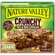 Nature Valley  Μπάρες Δημητριακών  Μουσλι &  Μαύρη Σοκολάτα   6Χ42 gr