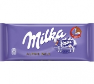 Milka Σοκολάτα  Alpine Milk 100 gr