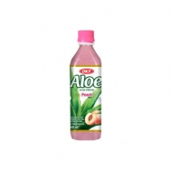 OKF Aloe Vera Drink Peach 500 ml