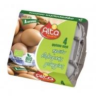 Alta Αυγά Βιολογικα 4άδα Μεγάλα Μ