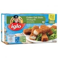 Iglo Fish Sticks Τραγανές κροκέτες Ψαριών  Ολικής Άλεσης 250 gr