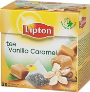 Lipton Vanilla & Caramel Πυραμίδα 20 X 0.017 gr