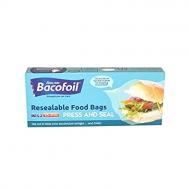 Bacofoil  Σακούλες Τροφίμων για Αεροστεγές Σφράγισμα 17x18 25 Τεμάχια
