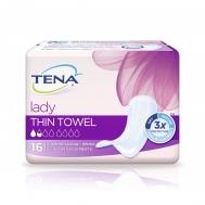 Tena Lady Thin Towel Λεπτή Σερβιέτα 16 Τεμάχια