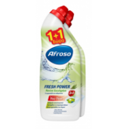 Afroso Υγρό Wc Fresh Power  Revive Eycaliptus 750 ml  1+1 Δώρο