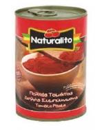 Naturalito Ψιλοκομμένες Αποφλοιωμένες Τομάτες 400 gr