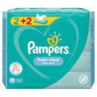 Pampers Fresh Μωρομάντηλα 56 Τεμάχια 2+2 Δώρο