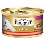 Gourmet Γατοτροφή  Βοδινό & Κοτόπουλο 85 gr