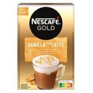 Nescafe Gold Cappuccino Στιγμιαίο Ρόφημα Vanilla Latte 8 Χ17 gr
