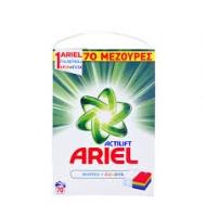 Ariel  Σκόνη Πλυντηρίου 72 Μεζούρες