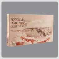 Μελετιάδης Λουκούμια  Τριαντάφυλλο 400 gr