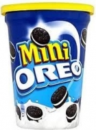 Oreo Μπισκότα Mini Βανίλια 115 gr