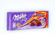 Milka Σοκολάτα Daim 100gr