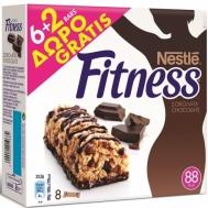 Nestle Fitness Mπάρες Δημητριακών Σοκολάτα 6X23.5