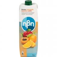 Ηβη Φυσικός Χυμός  Πορτοκάλι Μήλο Βερύκοκο 1L