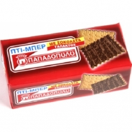 Παπαδοπούλου Πτι Μπερ με Σοκολάτα Γάλακτος 200 gr