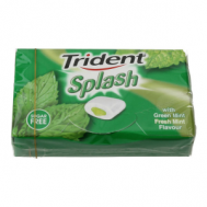 Trident Splash Δυόσμος Χωρίς Ζάχαρη 22 gr