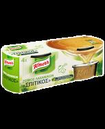 Knorr Ζωμός Λαχανικών Σπιτικός 4x28 gr