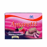 Amaretti Γκοφρετάκια Φράουλα 68 gr