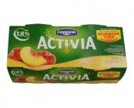 Activia Γιαούρτι με Ροδάκινο 2 Χ 200 gr
