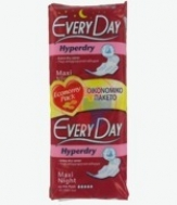 Everyday  Ultra Plus Ηyperdry Maxi  Night 18 Σερβιέτακια