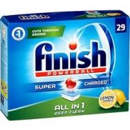 Finish Ταμπλέτες Πλυντηρίου Πιάτων Όλα σε  1  Λεμόνι 52 Τεμάχια