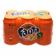 Fanta Πορτοκαλάδα 6x330 ml