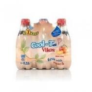 Βίκος Cool Tea Ροδάκινο 6x330 ml 5+1 Δώρο