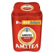 Amstel Κουτί 4 Χ 500ml