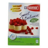 Γιώτης Sweet & Balance  Μίγμα για Κρέμα Ζαζαροπλαστικής Βανίλια με Stevia 85 gr