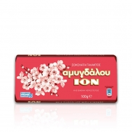 ΙΟΝ Σοκολάτα Γαλακτος Αμυγδάλου 100 gr