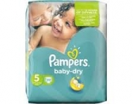 Pampers Baby Dry Mini No  5  41 Τεμαχια