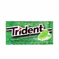 Trident Τσίχλα  Spearmint  Flavor 8.5 gr