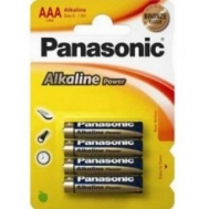 Panasonic  Μπαταρίες Απλές  ΑΑΑ 4 Τεμάχια