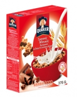 Quaker Δημητριακά με Βρώμη & Σοκολάτα Γάλακτος  375 γρ