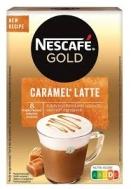 Nescafe Gold Cappuccino Στιγμιαίο Ρόφημα Caramel Latte 8 Χ17 gr