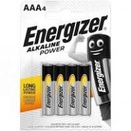 Energizer  μπαταρίες Alcaline AAA  4 τεμάχια