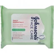 Johnson Cleansing Μαντηλάκια Καθαρισμού Προσώπου 25 Τεμάχια