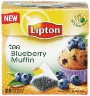 Lipton Blueberry Muffin Πυραμίδα 20 X0.017 gr