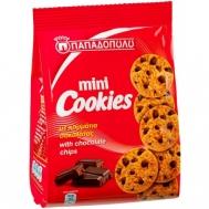 Παπαδοπούλου Μπισκότα Mini Cookies με Κομμάτια Σοκολάτας 70 gr