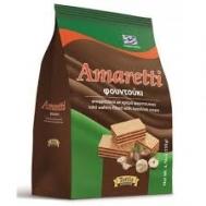 Amaretti Γκοφρέτα Φουντούκι Σακούλα 135 gr